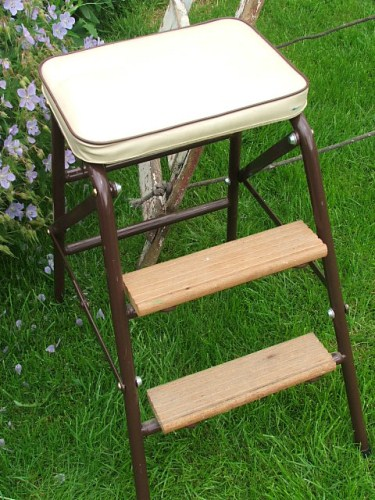Kitchen stool with steps Photo - 11