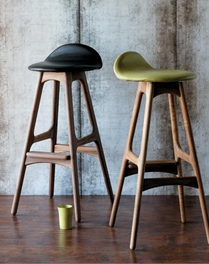 Kitchen stools with backs Photo - 1