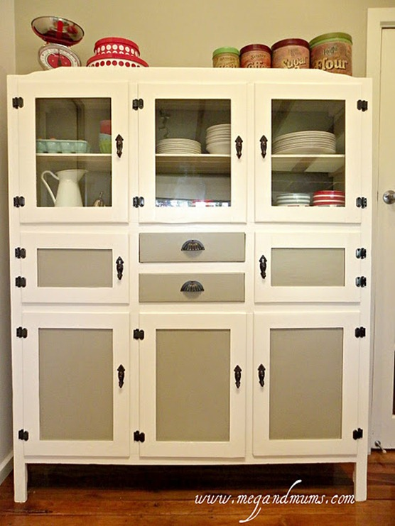 Kitchen storage cabinet with doors Photo - 6