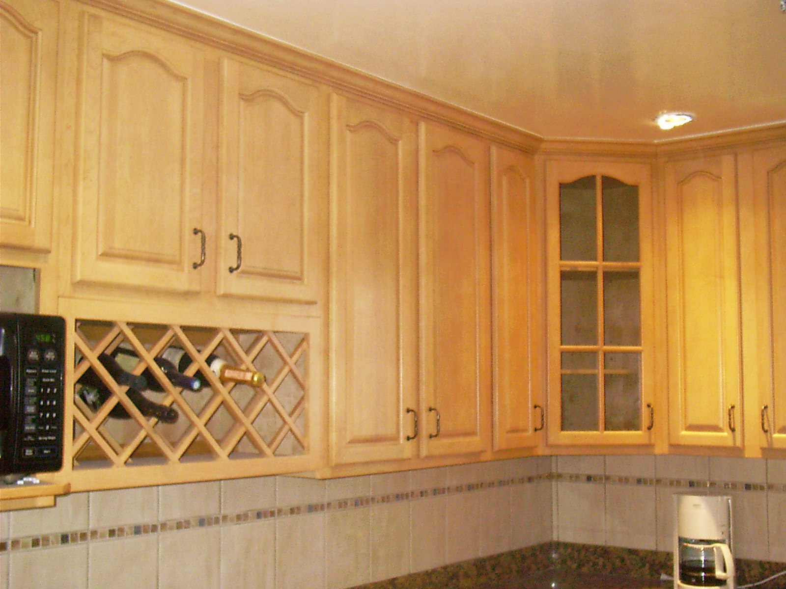 Kitchen storage cabinets with doors Photo - 1