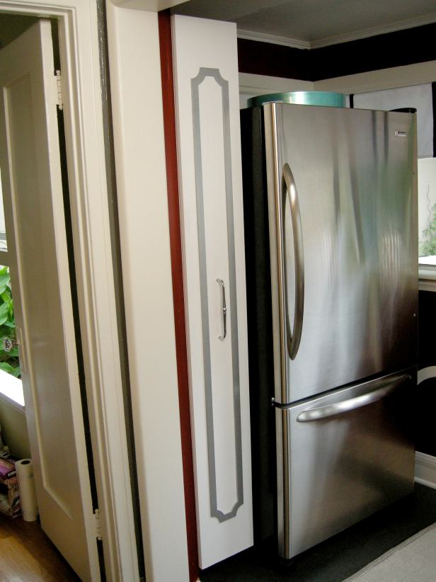 Kitchen storage cabinets with doors Photo - 11