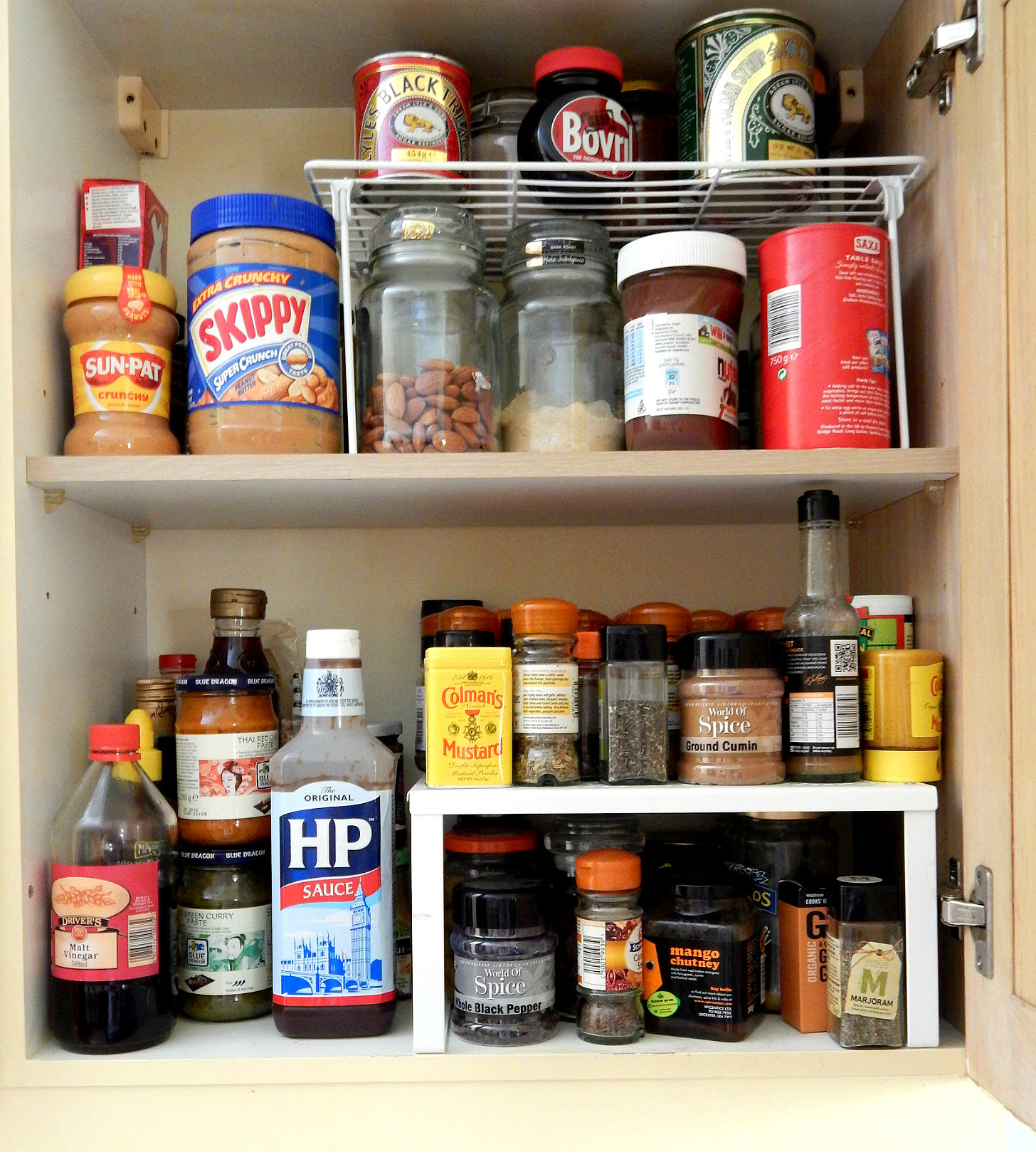 Kitchen storage cupboard | Kitchen ideas