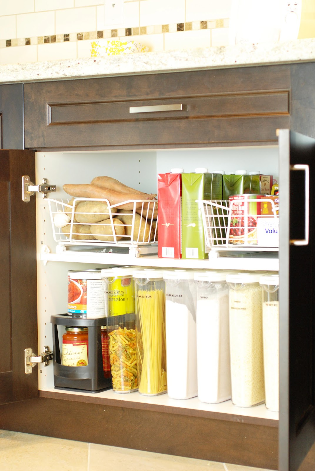 Kitchen Shelf Organization Kitchen Storage Organization Kitchen Ideas