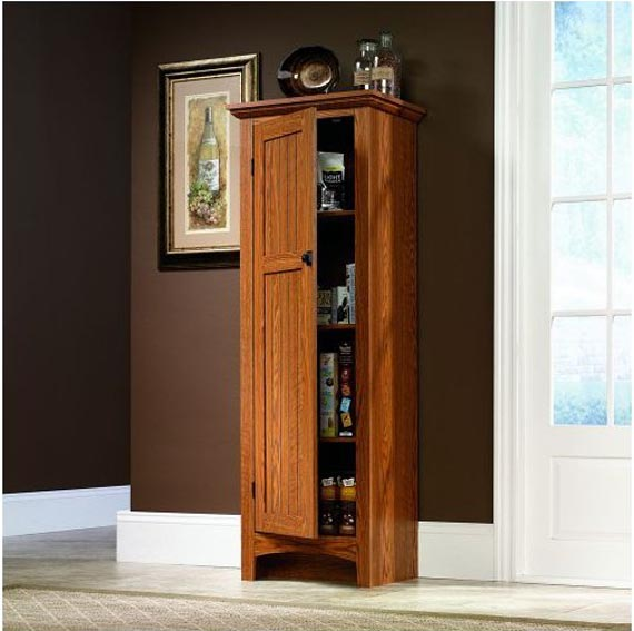 Kitchen storage pantry cabinet Photo - 9