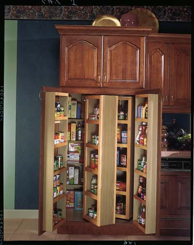 Kitchen storage pantry cabinet Photo - 5