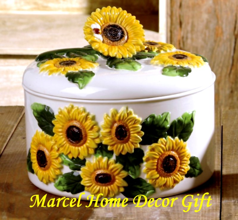 10 Photos To Kitchen Sunflower Decor
