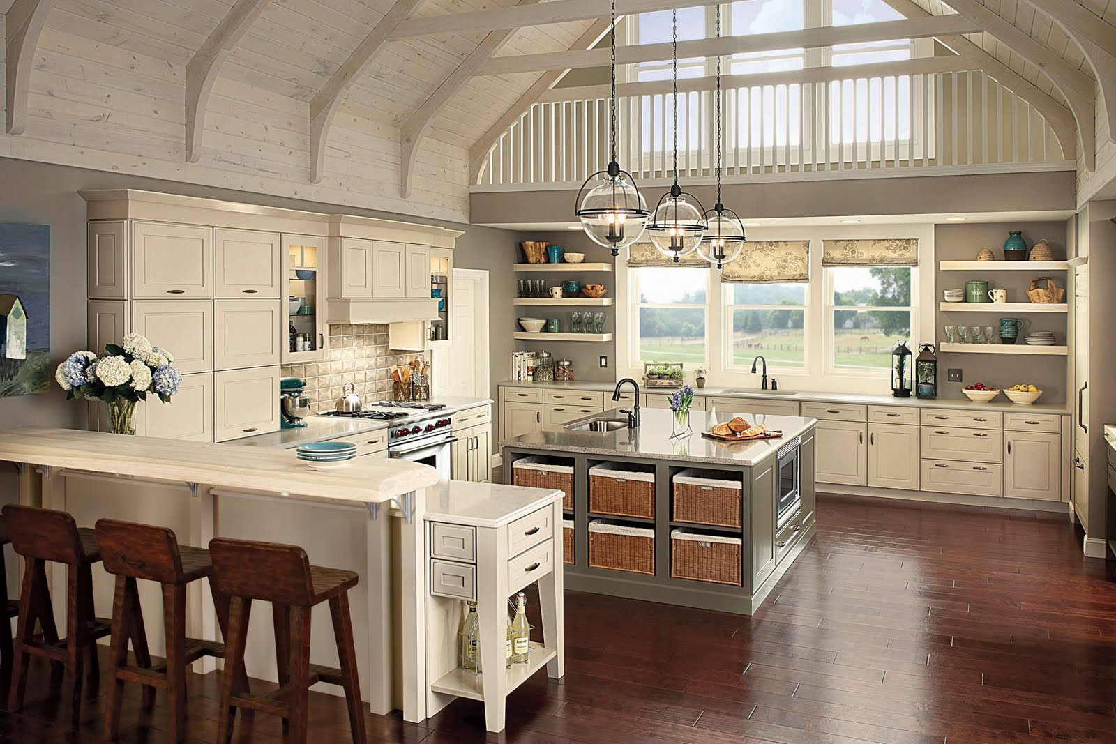 Large Farmhouse Kitchen Table Kitchen Table Bakers Kitchen Ideas