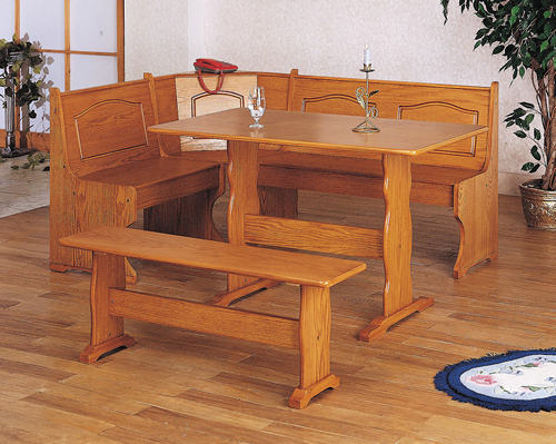 Wonderful Kitchen Table With Corner Bench Plans The Most And