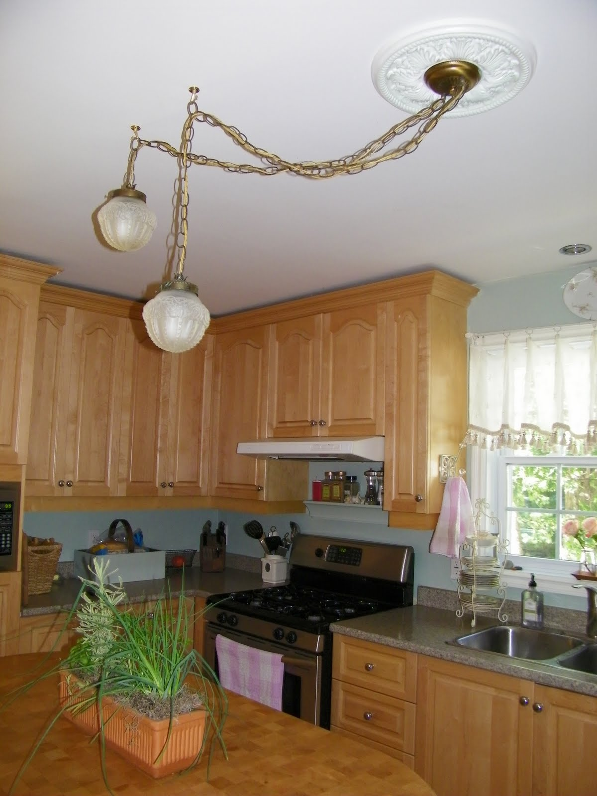 Kitchen table lights -  Kitchen Table Light Fixture Photo 8
