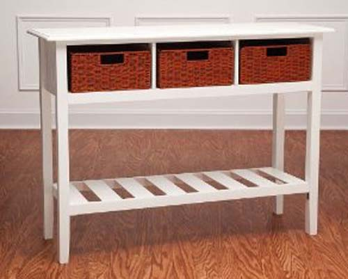 Kitchen storage table best storage design 2017 for Small kitchen table with storage
