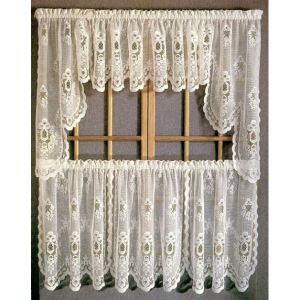ecru adirondack woven kitchen tier bedbathhome altmeyer curtains toast s adirondackwaven