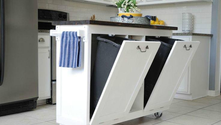 Kitchen trash can storage Photo - 7 | Kitchen ideas