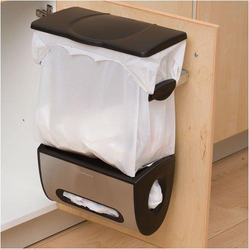 Kitchen trash can storage cabinet Photo - 2