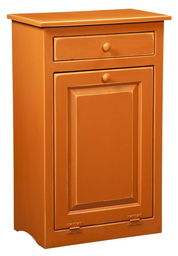 Kitchen trash can storage cabinet Photo - 4