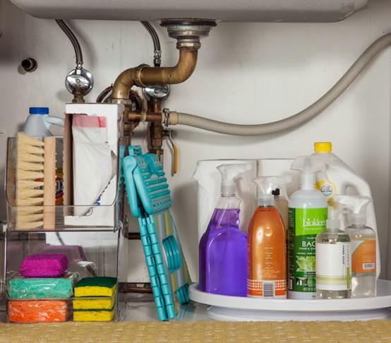 Kitchen under cabinet storage Photo - 12