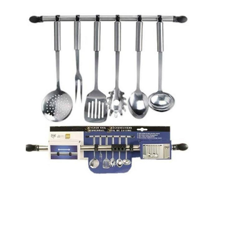 Kitchen utensil sets loft 5 piece kitchen utensil set for Art cuisine evolution 10 piece cooking set