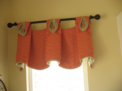 decorating » red valances for windows - inspiring photos gallery
