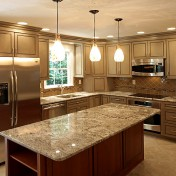 Flush Mount Fluorescent Kitchen Lighting Photo 1