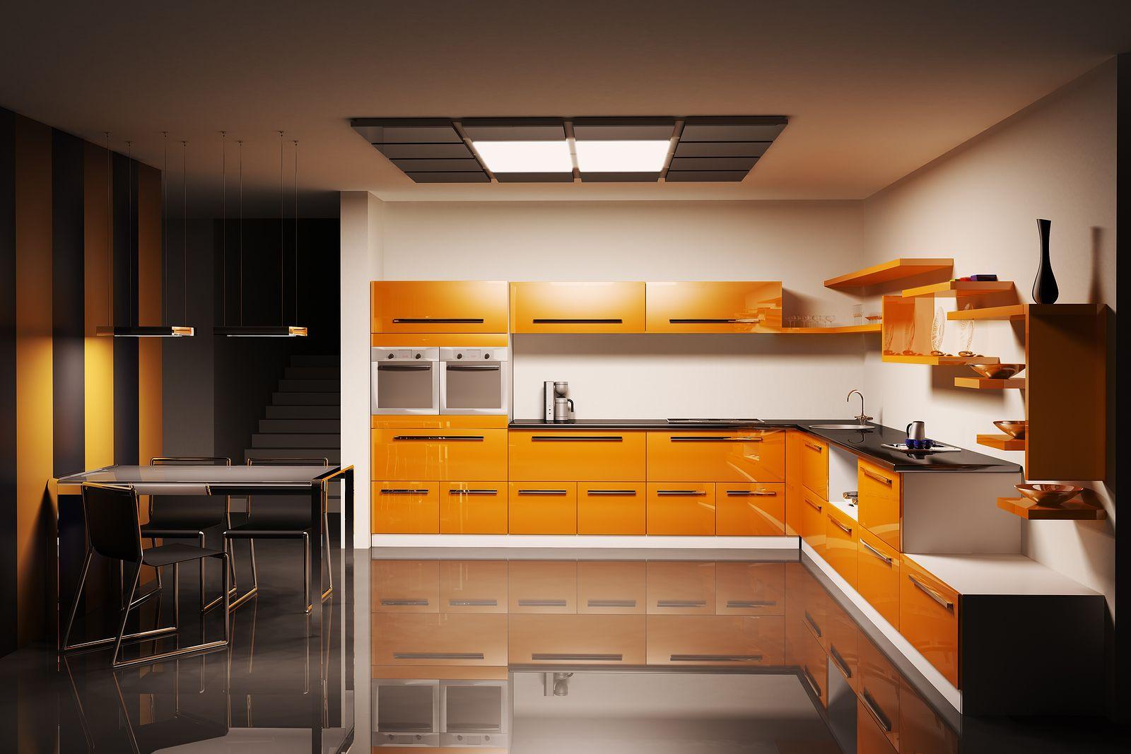 Kitchen wall lighting Photo - 10