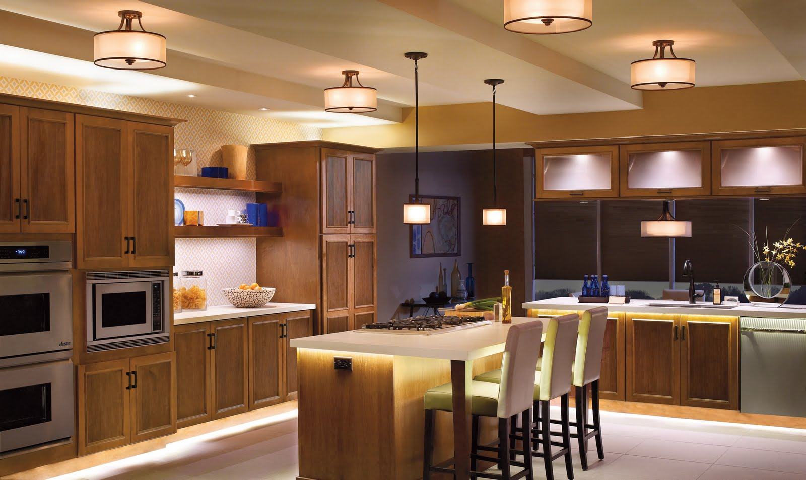 Kitchen wall lighting Photo - 5