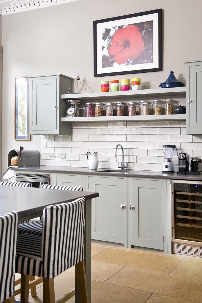 10 Photos To Kitchen Wall Shelving Units