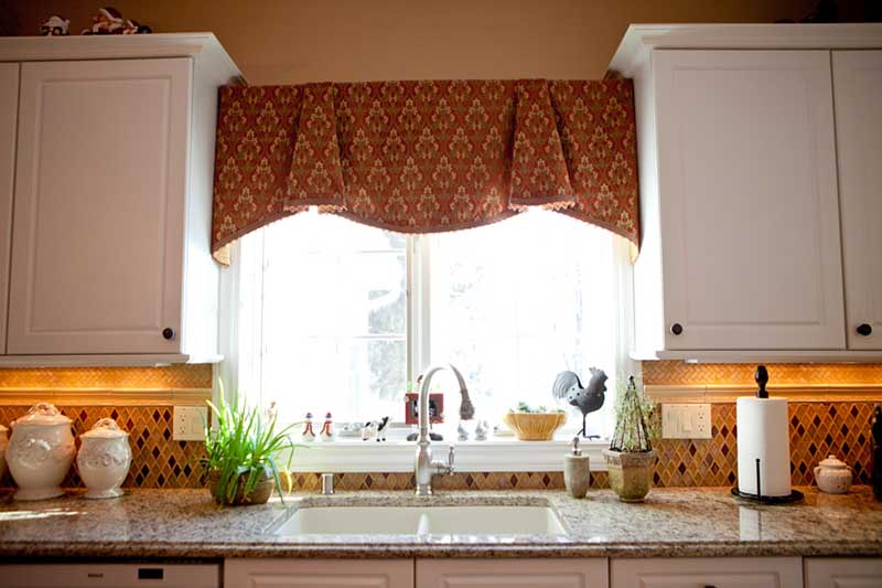 Kitchen Window Treatments Photo With Kitchen Window Treatment.