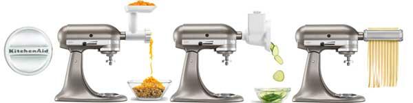kitchenaid mixer and attachments | kitchen ideas