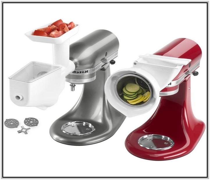 Kitchenaid mixer slicer Photo - 8