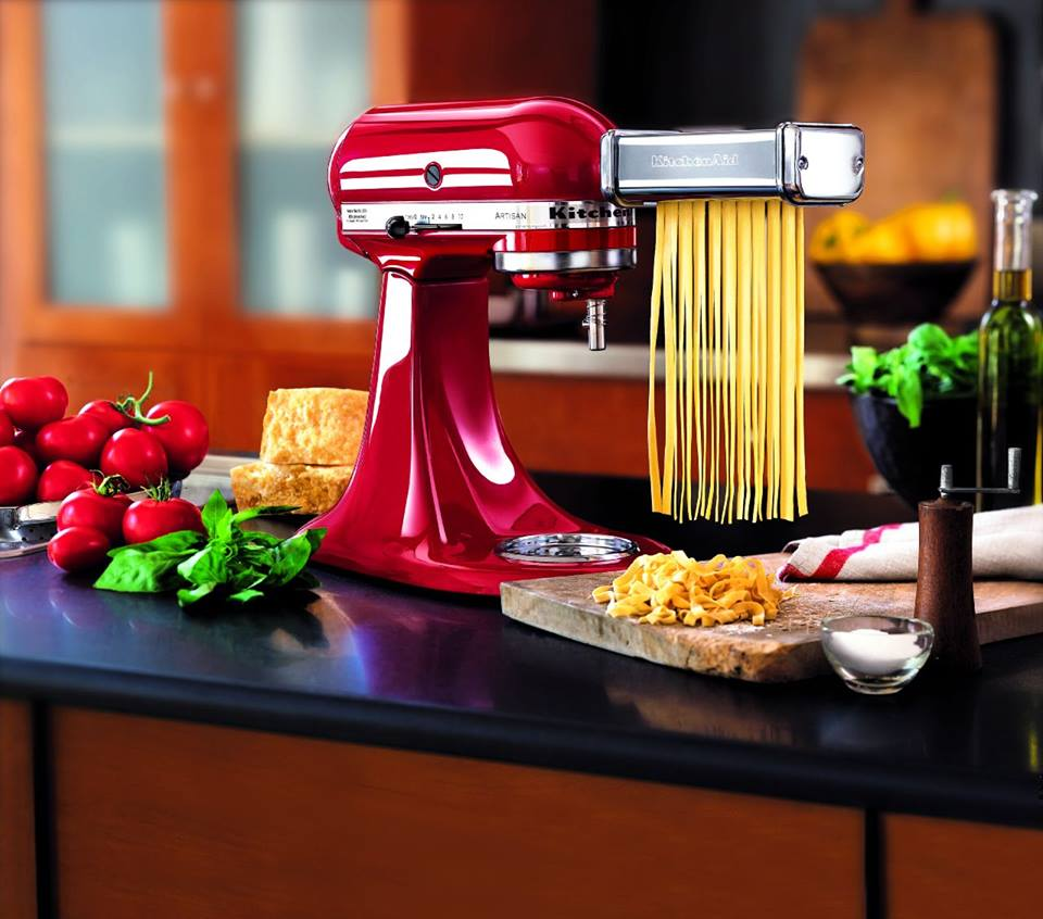 kitchenaid pasta roller and cutter set photo