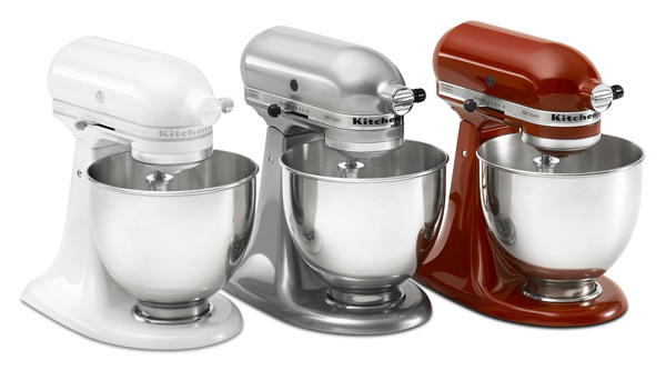 Interesting White Kitchenaid Mixer Classic Stand D Inside Design Ideas