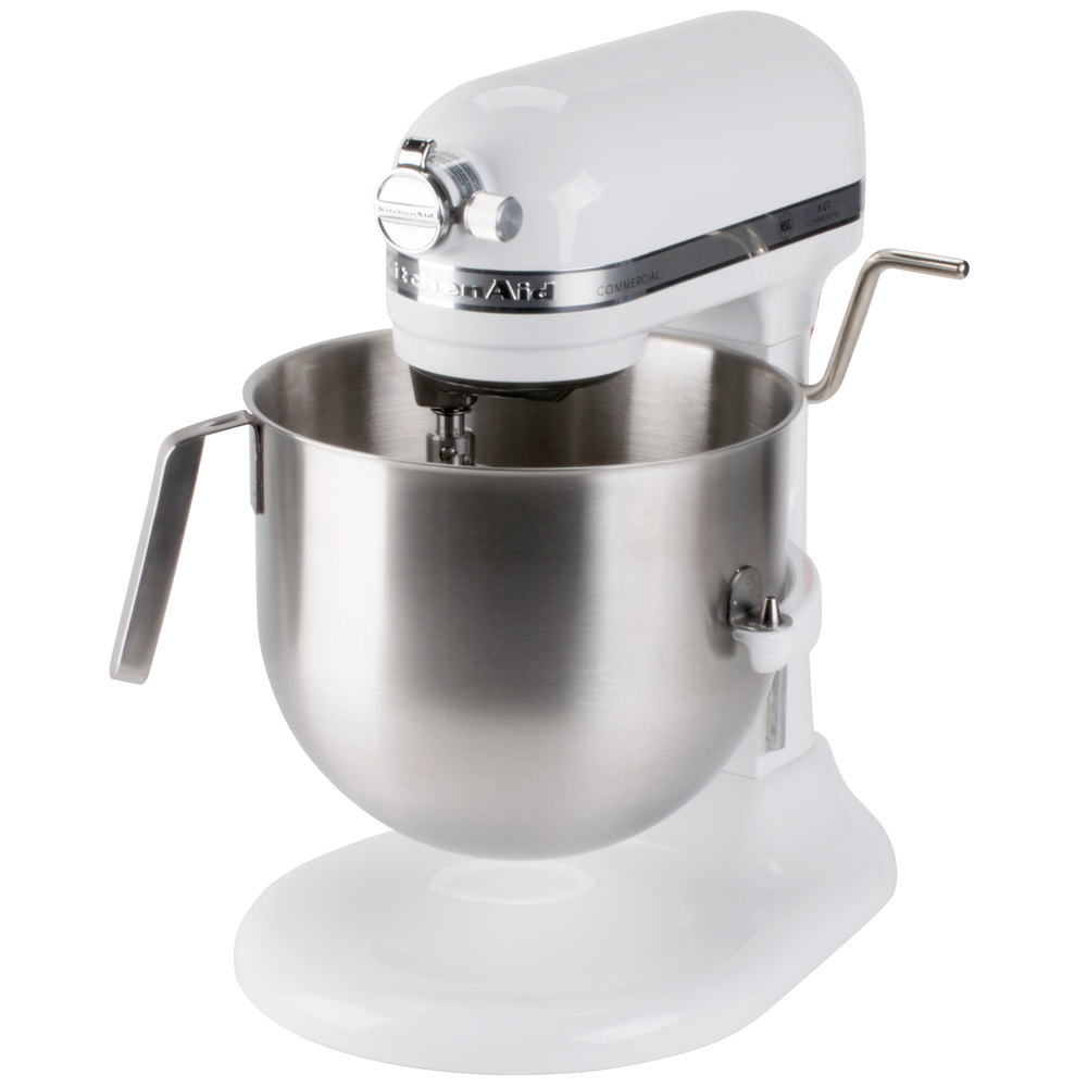 ... Scroll To Next Item Kitchenaid Ksm8990np Commercial Series Nsf  Certified Stand Mixer 8 Quart ...