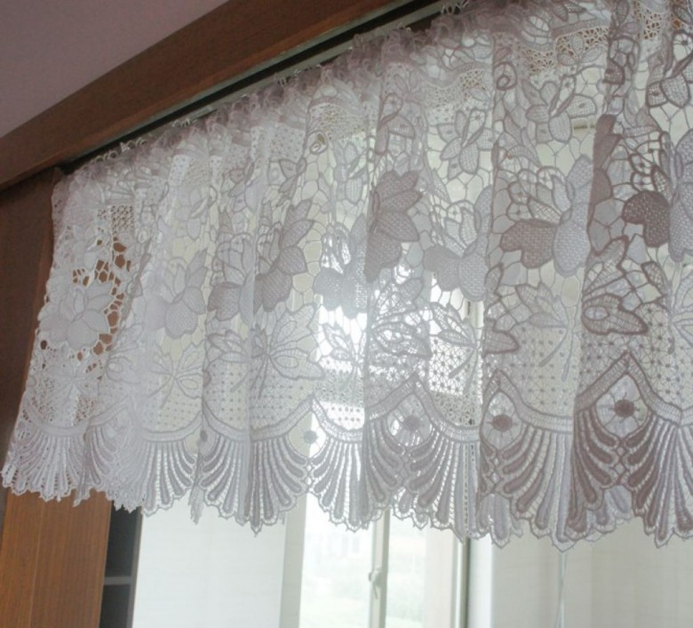 ... Lace Kitchen Curtains Photo   8 ...