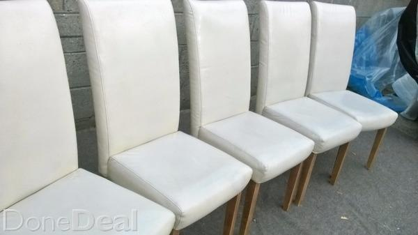 Leather kitchen chairs Photo - 8