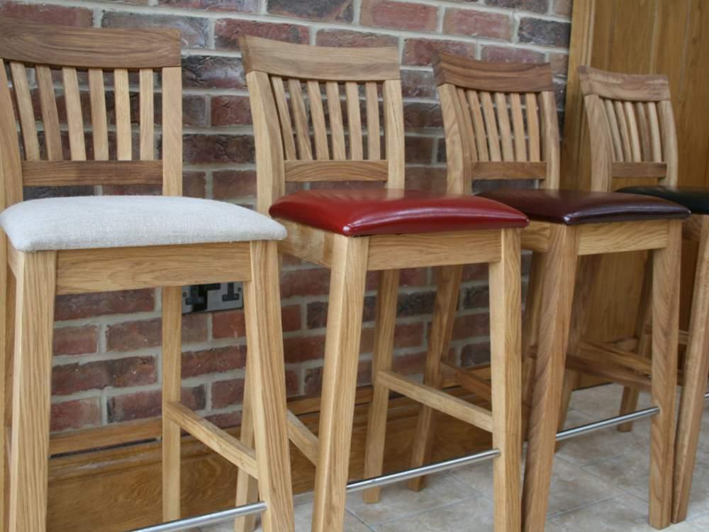 Leather stools kitchen Photo - 10