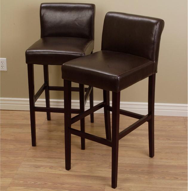 Leather stools kitchen Photo - 5