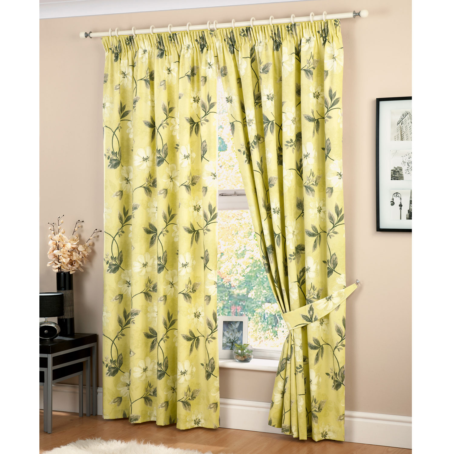 Superb 10 Photos To Lemon Kitchen Curtains