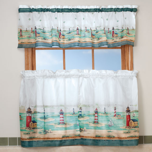 Charmant 10 Photos To Lighthouse Kitchen Curtains