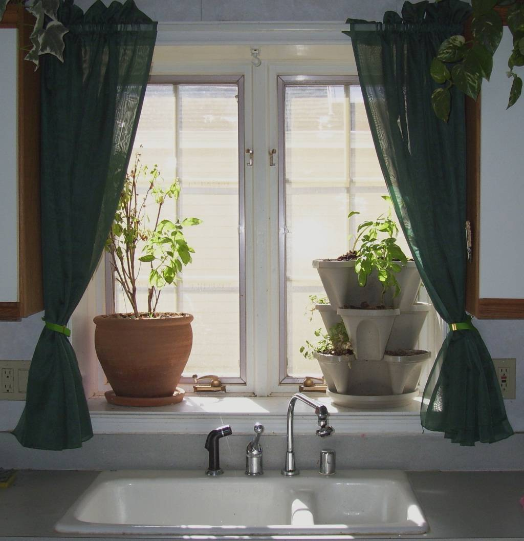 Lime Green Kitchen Curtains Photo 11