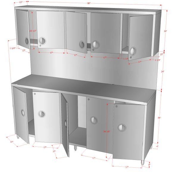 Locks for kitchen cabinets Photo - 1