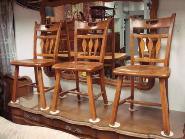 Maple kitchen chairs Photo - 9