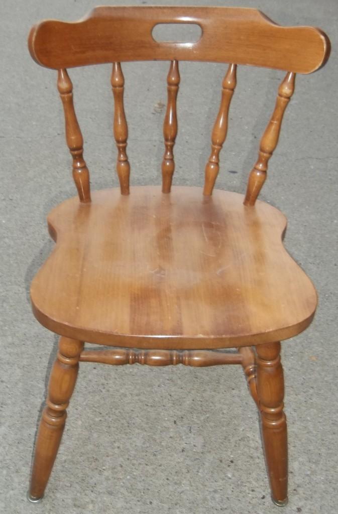 Maple kitchen chairs Photo - 12