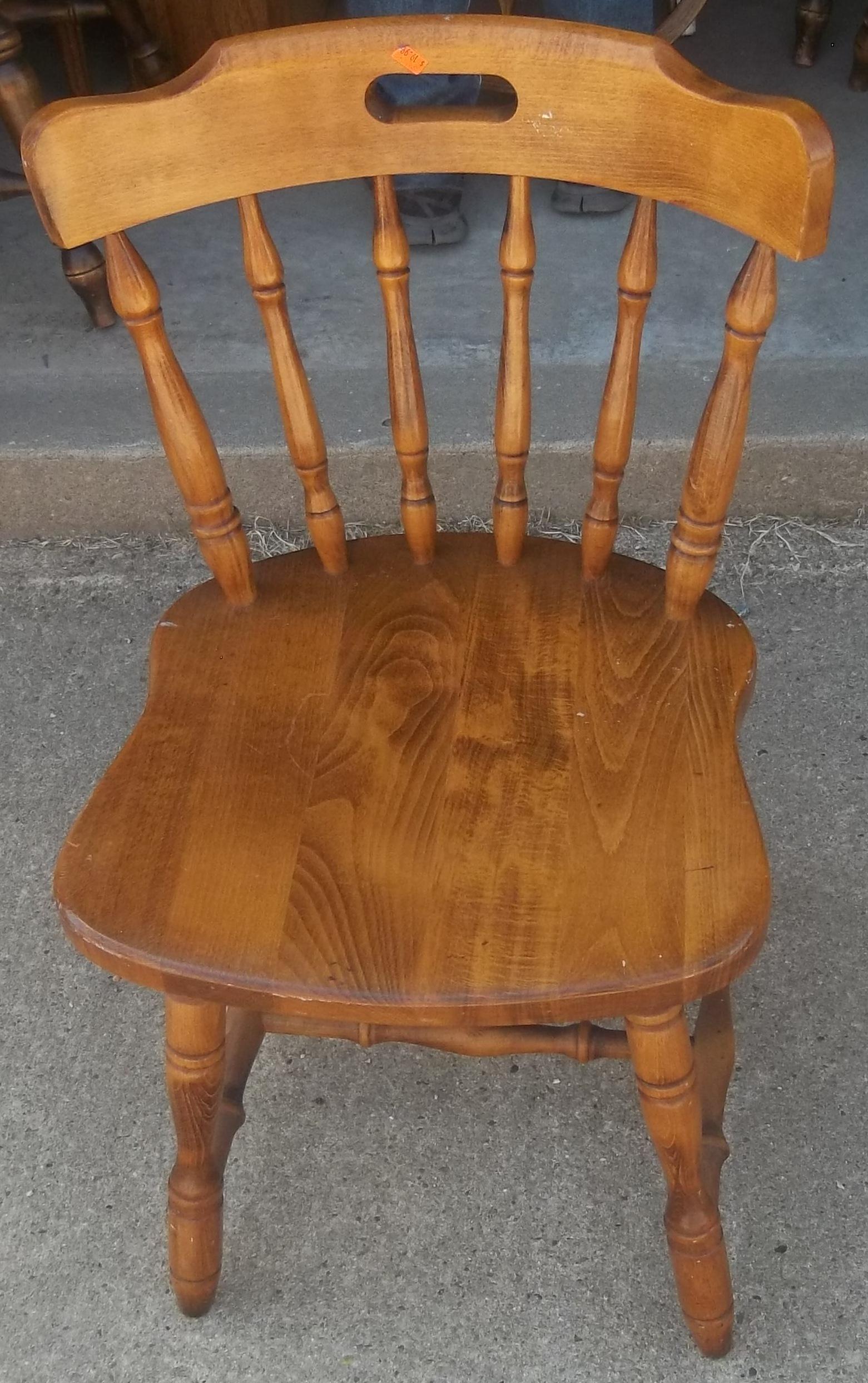 Maple kitchen chairs Photo - 7
