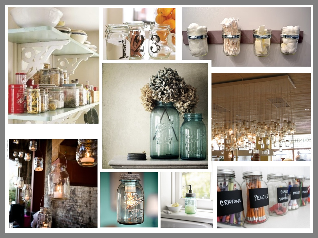 Mason Jar Kitchen Decor Photo U2013 3