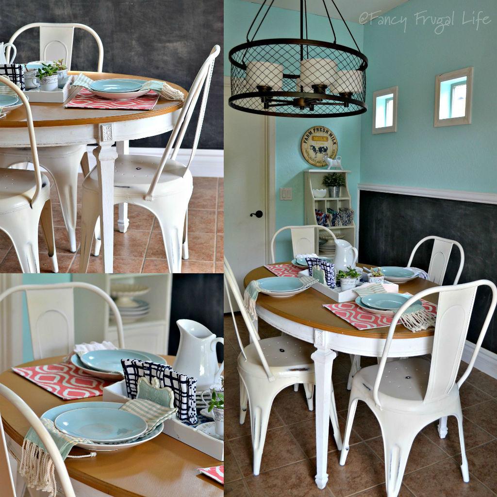 Metal kitchen chairs Photo - 4