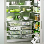 Metal kitchen pantry Photo - 1