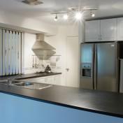 Metal kitchen shelf Photo - 1