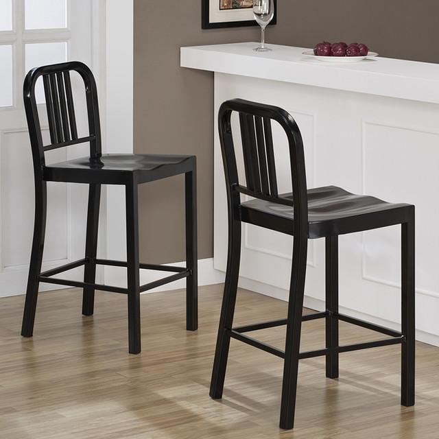 Metal kitchen stools Photo - 8