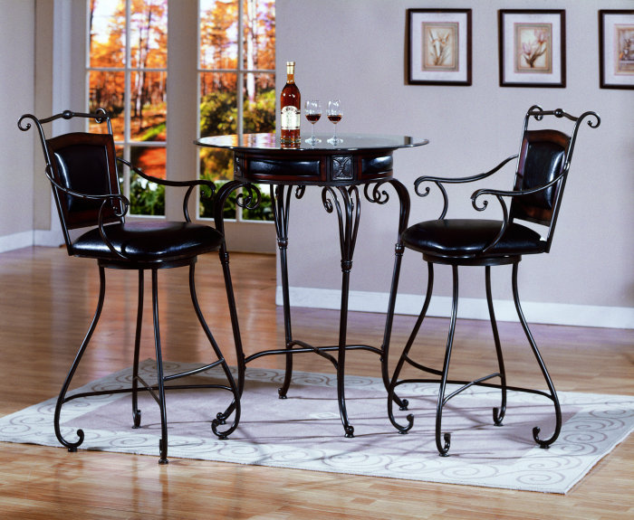 Metal Kitchen Table And Chairs Photo 5 Ideas