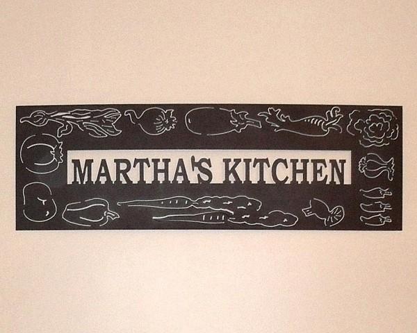 Metal Kitchen Wall Decor Photo 12