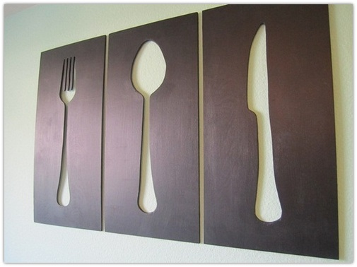Charmant Genial Metal Kitchen Wall Decor Photo U2013 5